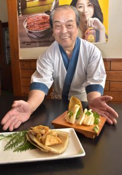 町内産タケノコ、個性豊かな料理 阿見、14店舗でフェア