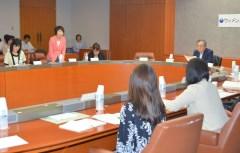 女性の活躍促進に向け開かれたウィメンズパワーアップ会議=県庁