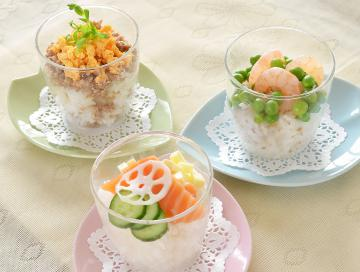 春の彩り寿司(カップ寿司)