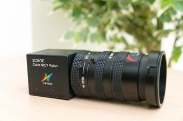 ナノルクスが販売を始めたカラー暗視カメラ