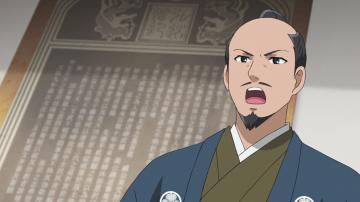 徳川斉昭が登場する歴史アニメーション(水戸市提供)