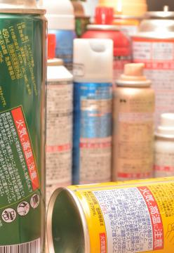 市町村によって処分方法が異なるスプレー缶