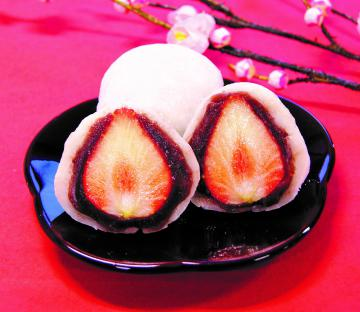 亀印製菓の「いちご大福」