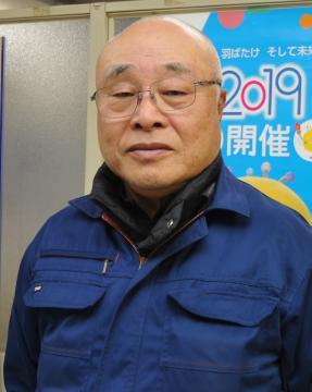 冬季国体で「茨城の力を示したい」と話す鈴木寿雄県スキー連盟会長=八千代町