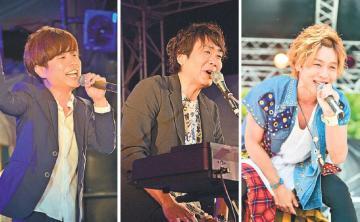磯山純さん、マシコタツロウさん、安達勇人さん(左から)