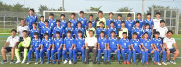 欧州遠征に臨むU-14県選抜選手団