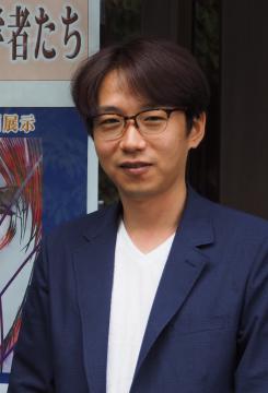 古河市出身でアニメーターの浅野恭司さん