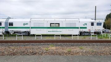 MMUの移動作業車