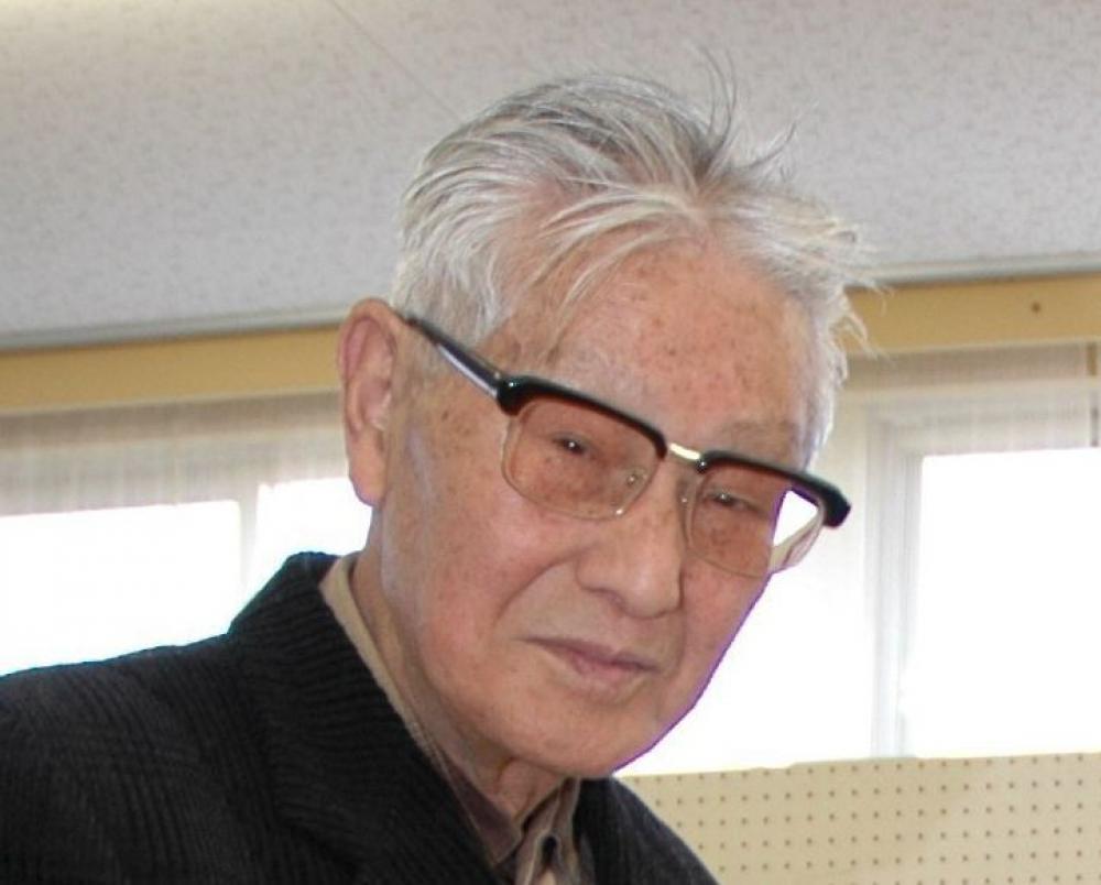 福西基さん=2006年3月撮影、下妻市内