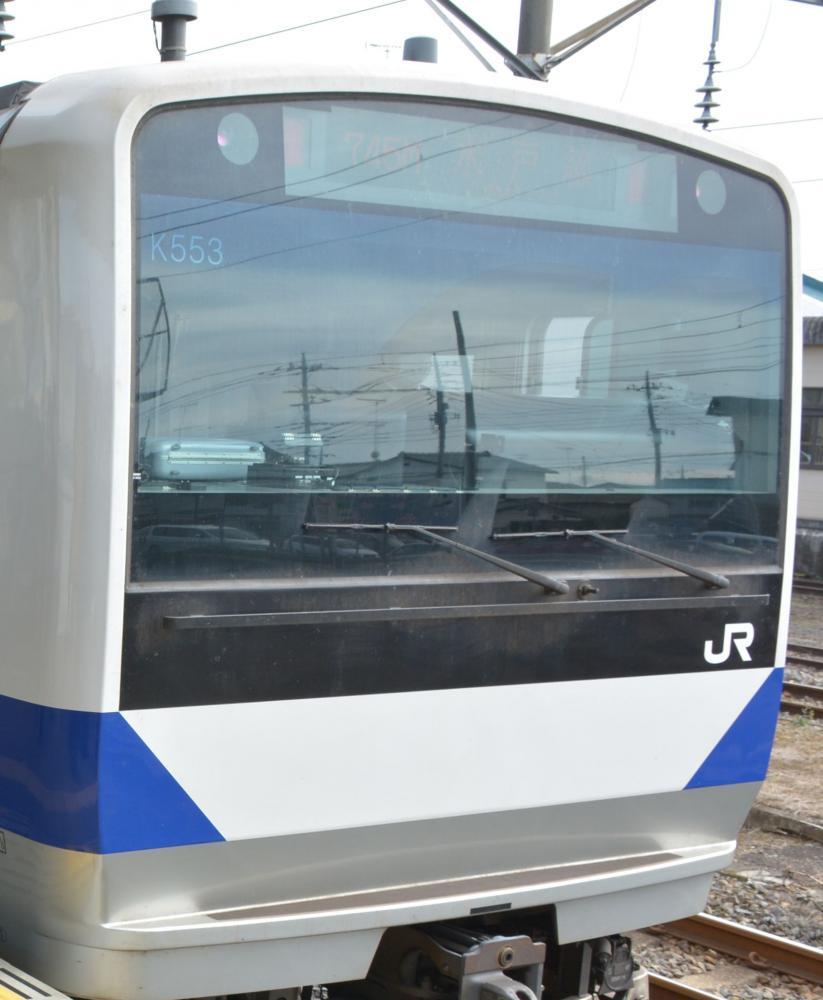 JR水戸線の車両(資料写真)