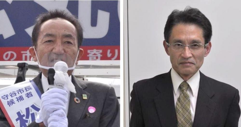 松丸修久氏、小野勉氏(左から)