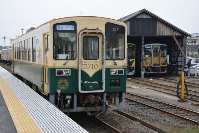 ひたちなか海浜鉄道湊線=ひたちなか市釈迦町