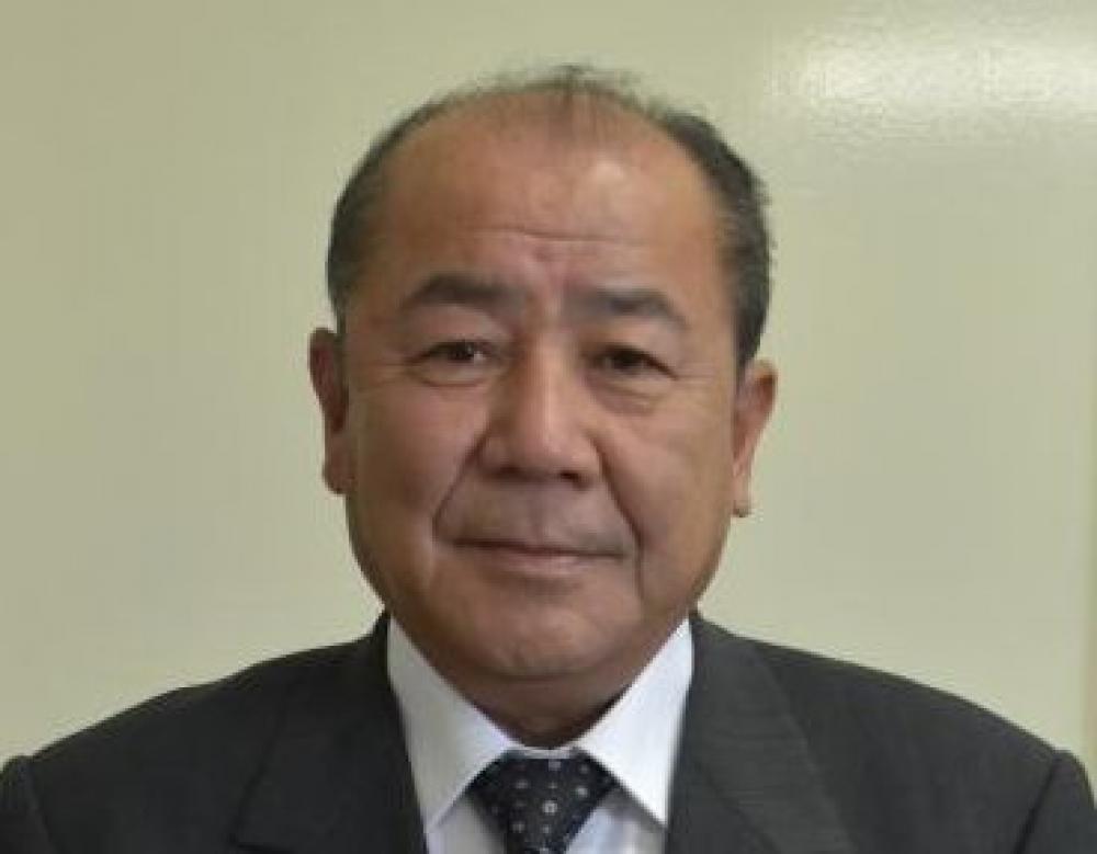 河内町長選 町議の野沢氏、立候補を表明の画像