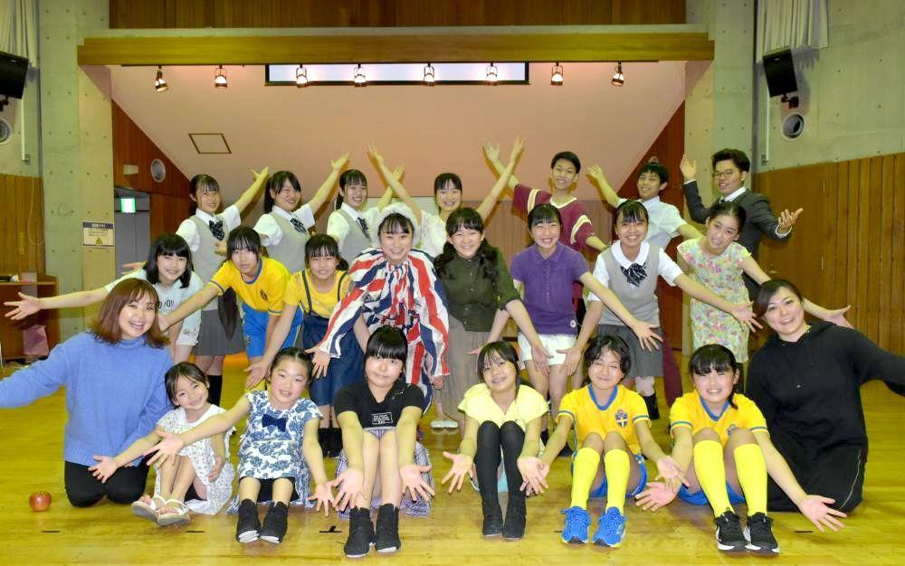 守谷の子ども劇団「人の温かさ伝えたい」 28日、取手で1年越し公演の画像