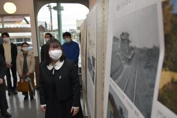 関東鉄道竜ケ崎線の歩みたどる 竜ケ崎駅でパネル展の画像