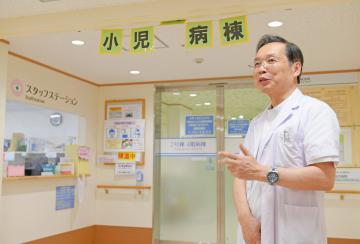 新生児受け入れ再開 日立総合病院 茨城県北の周産期拠点に 「安全安心な環境」へ一歩の画像