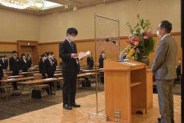 新社会人、成長誓う 茨城県内の主要企業入社式 コロナ禍の挑戦に期待の画像