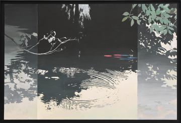 《公募展から》創元展 沼田さん、自然の大切さを表現の画像