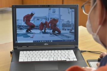 取手市消防本部 消防職の魅力 PR動画で配信の画像