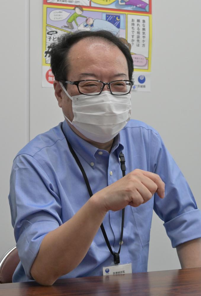 茨城、コロナ「第4波」入り口に 県医療統括監「従来対策では不十分」 調整本部再開 病床拡充の方針の画像