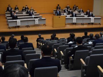 茨城県、主要施策を説明 市町村長・議長会議 水戸の画像