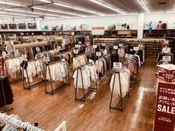 ワンダーコーポ レックス売り場改装 リユース商品 アパレル拡充、強化の画像