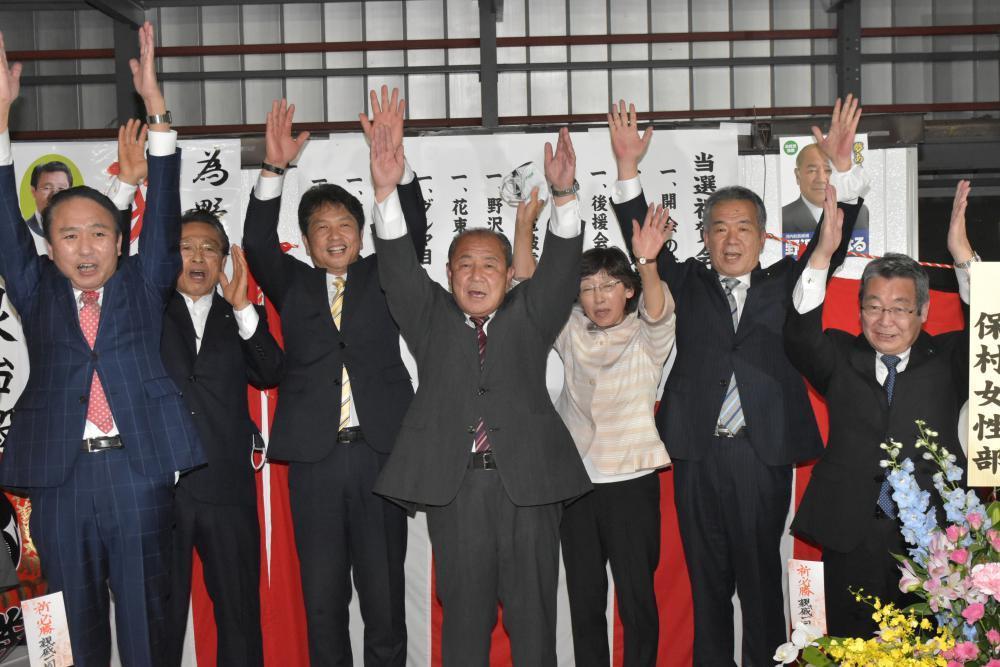 茨城・河内町長に野沢氏 新人対決制し初当選の画像