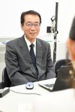 経営コーディネーター 守谷・福永一哉さん 中小企業、元気にしたいの画像