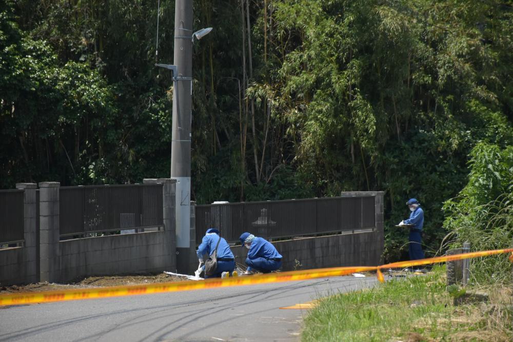 取手に布団巻き遺体 墓地近く40〜60歳男性 死体遺棄容疑で捜査の画像