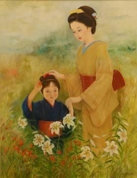 《公募展から》福田さん 母親の愛情表現の画像