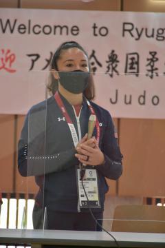 五輪柔道米代表「歓迎に感謝」 茨城・龍ケ崎、報道向け公開の画像