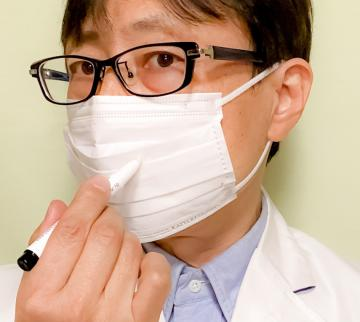 マスク用に透明のインクを採用したアロマスティロ