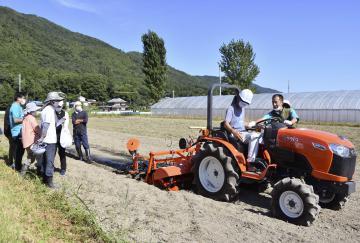 農機シェア、就農後押し クボタ 茨城県や京都に拠点の画像