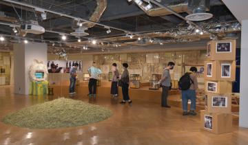「ヤギ」テーマに作品展 茨城・取手で10月5日まで 東京芸大アートチームの画像