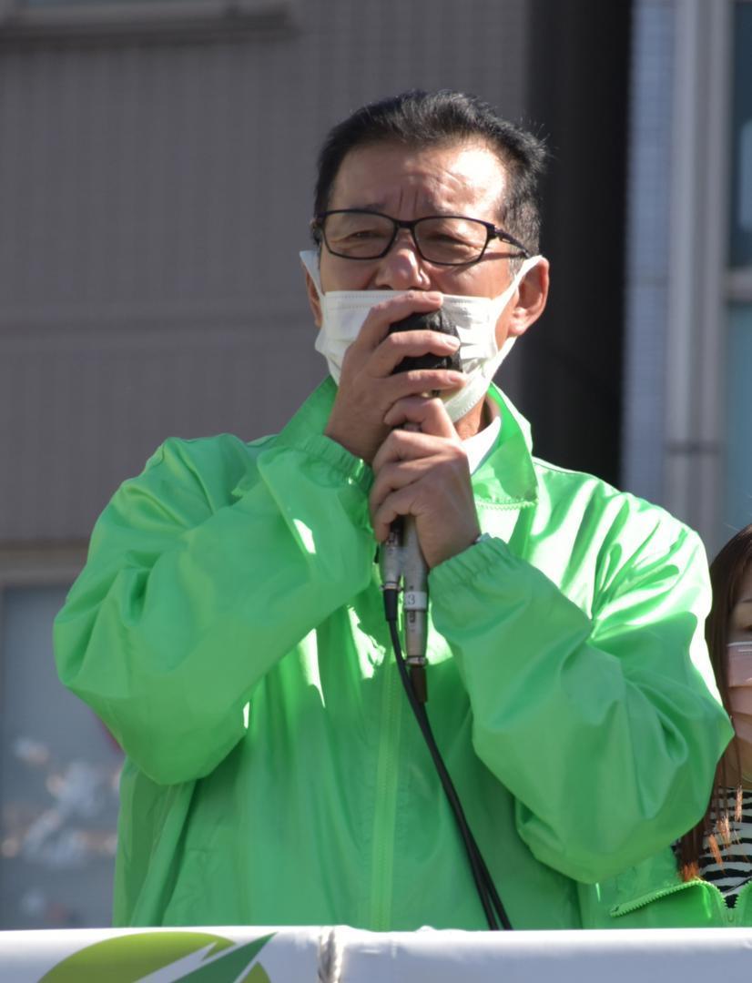 衆院選 維新・松井氏 日本を変えるため時代に合う構造に 茨城・取手の画像