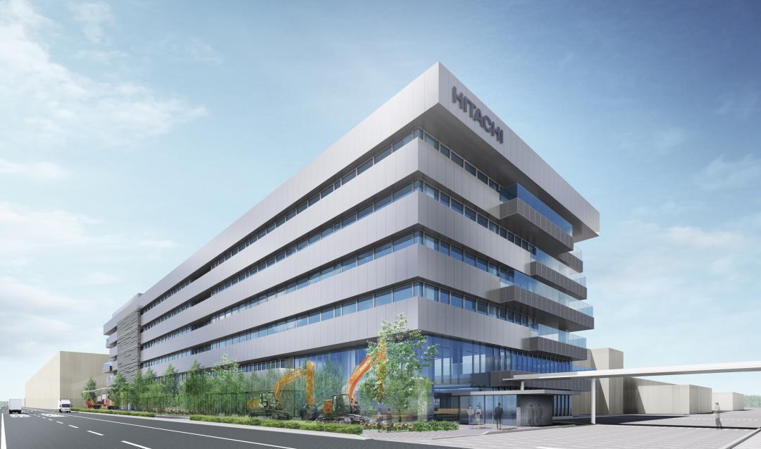 日立建機 茨城・土浦に新研究開発拠点 23年5月、稼働目指すの画像